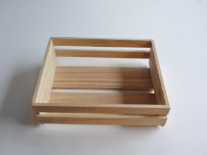 Open crate by Wooden Box