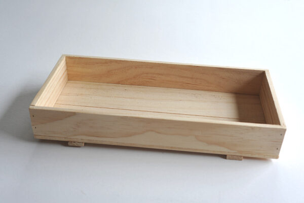 Wooden tray by Wooden Box
